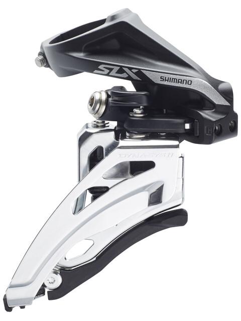 Shimano SLX FD-M7020 Umwerfer Schelle hoch 2x11 Side Swing Schwarz